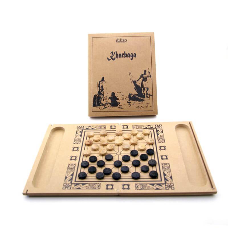Jogo de Tabuleiro Kharbaga, Educativo de Estratégia e Raciocínio