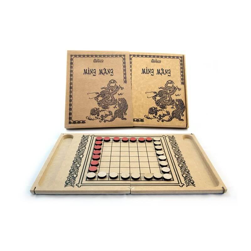 Jogo de Tabuleiro Ming Mang, Educativo de Estratégia e Raciocínio
