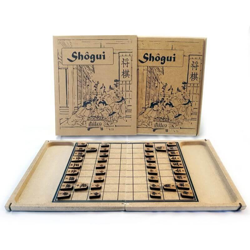 Jogo de Tabuleiro Shogi, Shôgui, Xadrez Japonês, Educativo de Estratégia e Raciocínio