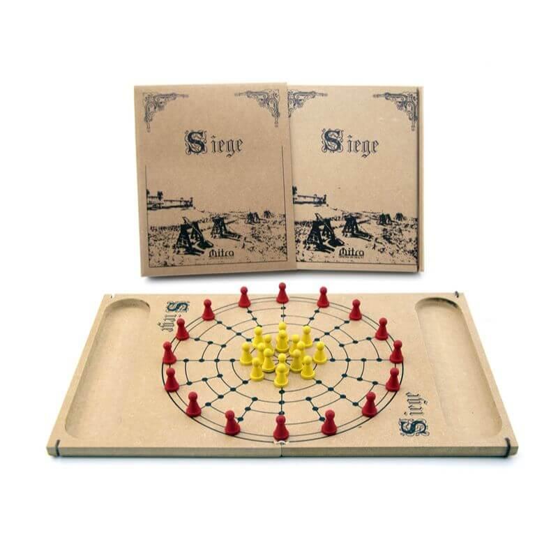 Jogo de Tabuleiro Siege, Educativo de Estratégia e Raciocínio