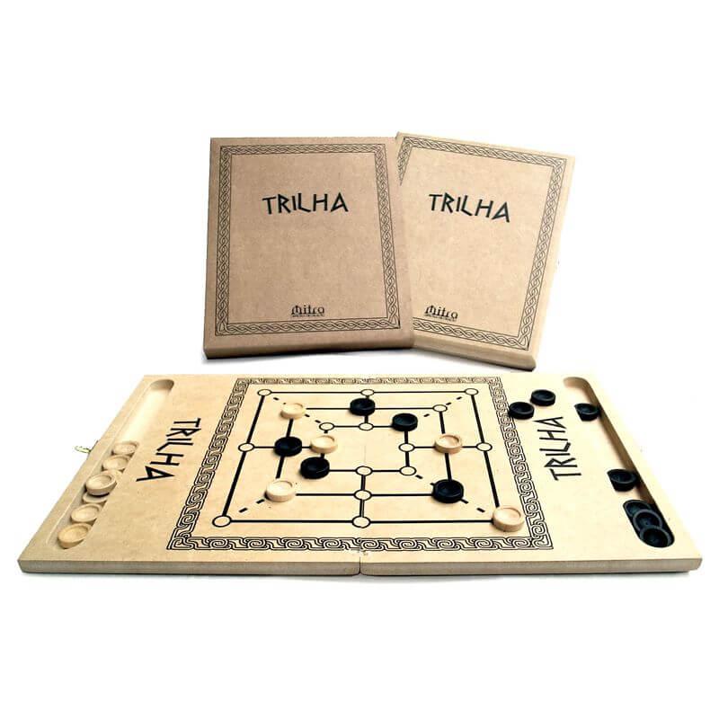 Jogo de Tabuleiro Trilha, Educativo de Estratégia e Raciocínio