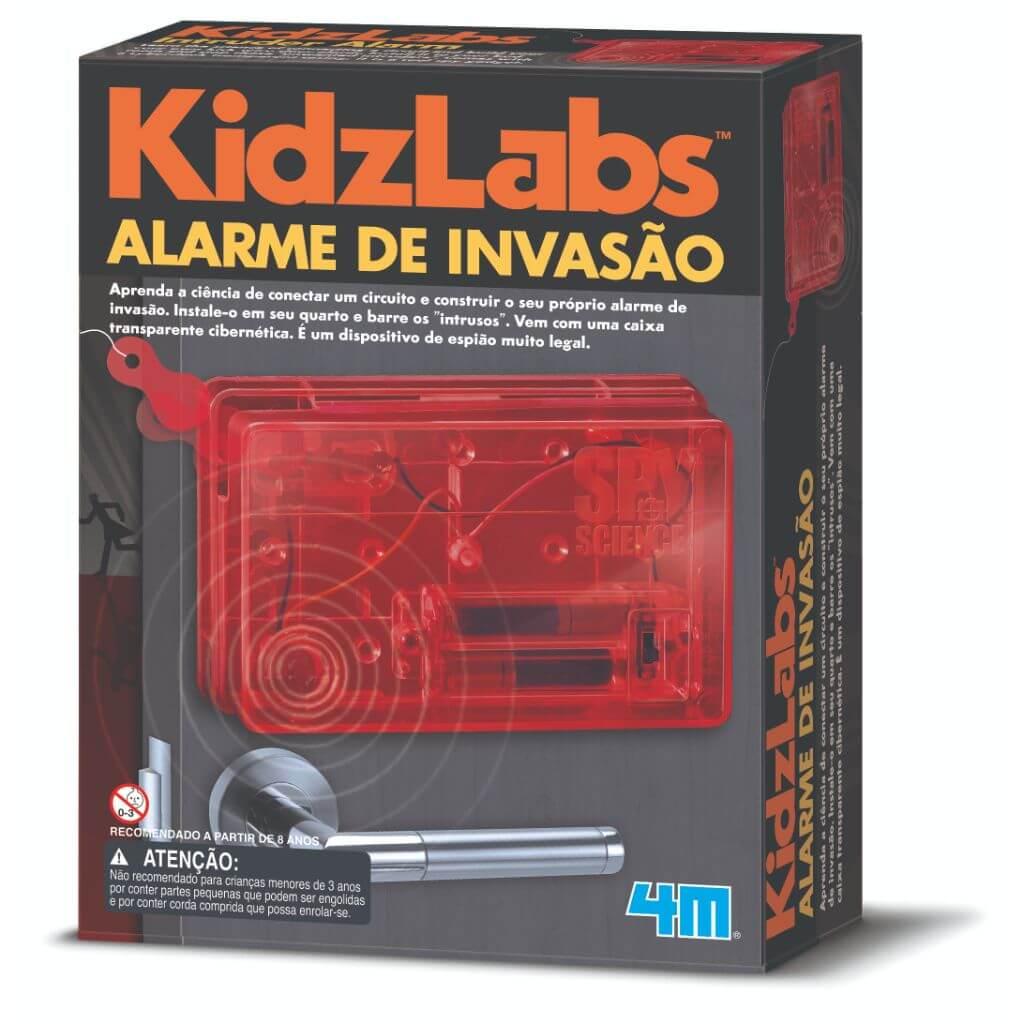Kit Alarme de Invasão Kidz Labs