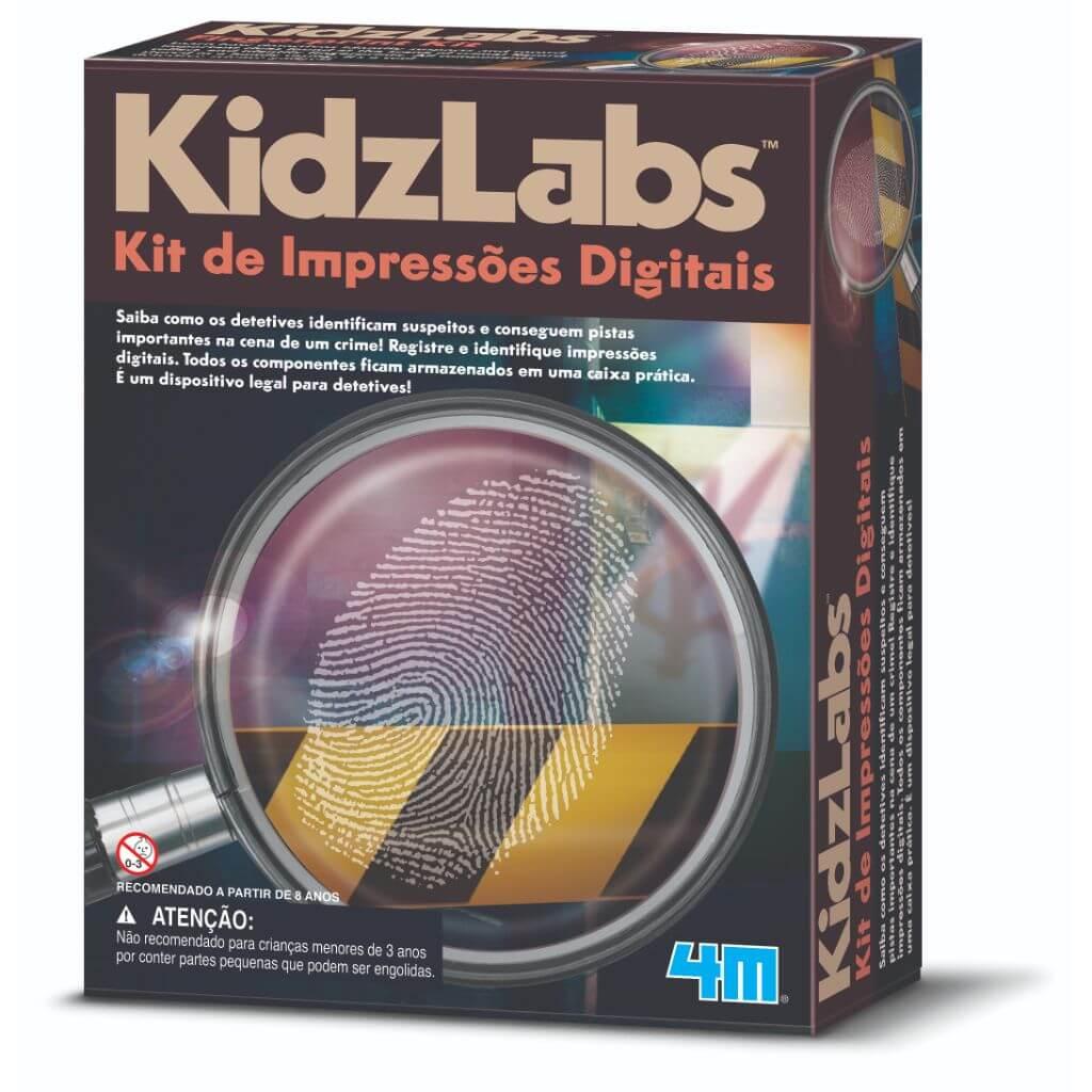 Kit de Impressões Digitais Kidz Labs