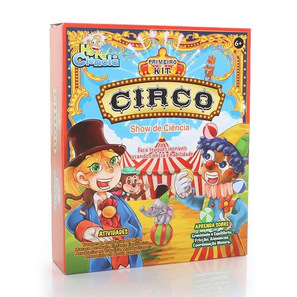 Meu Primeiro Kit de Circo, Hora da Ciência