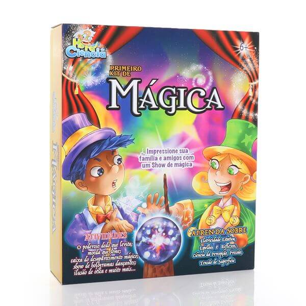 Meu Primeiro Kit de Mágicas, Hora da Ciência
