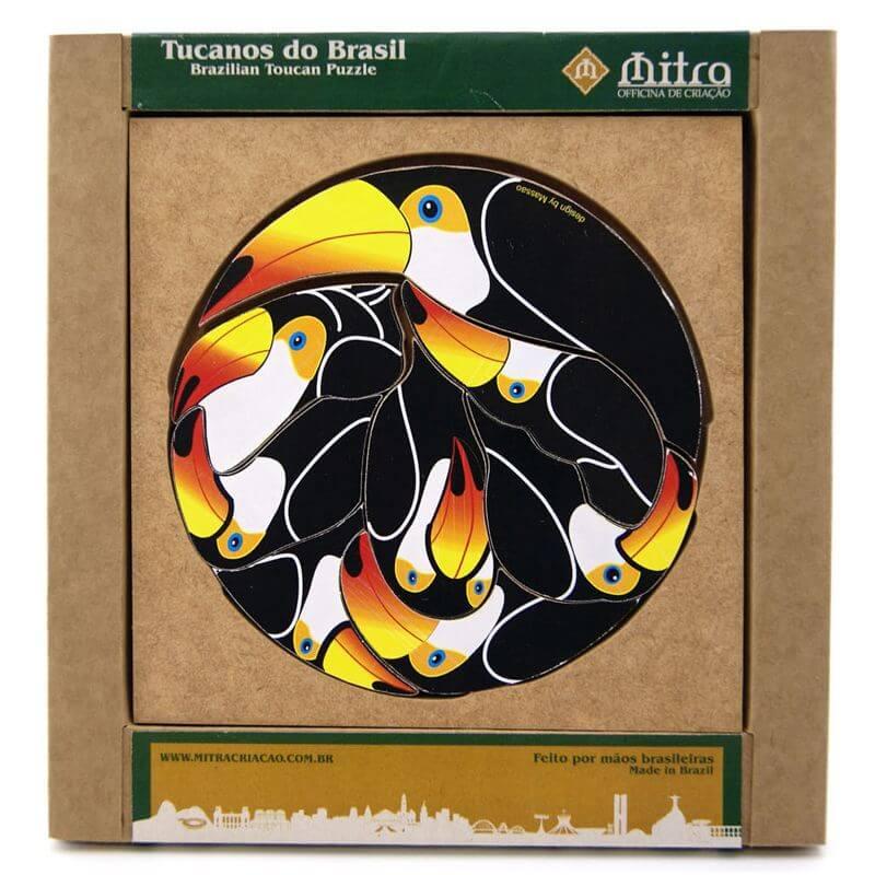 Quebra-Cabeça Tucanos do Brasil, Desafio de Raciocínio e Concentração