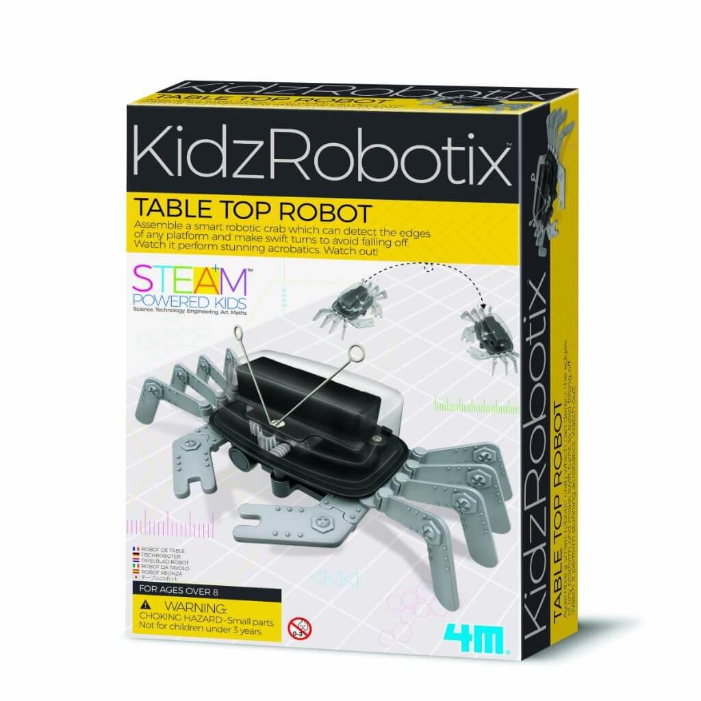 Robô Caranguejo Kidz Robotix