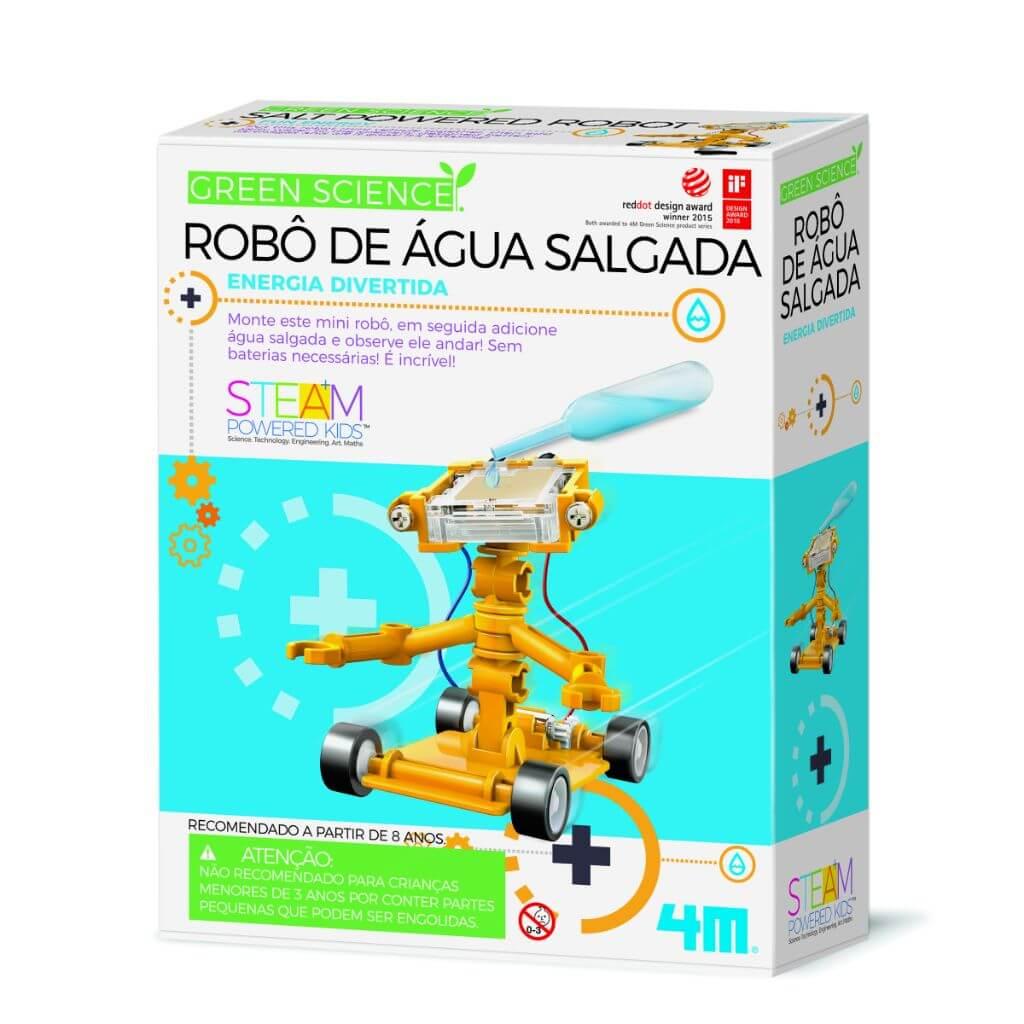 Robô de Água Salgada Ciência Verde