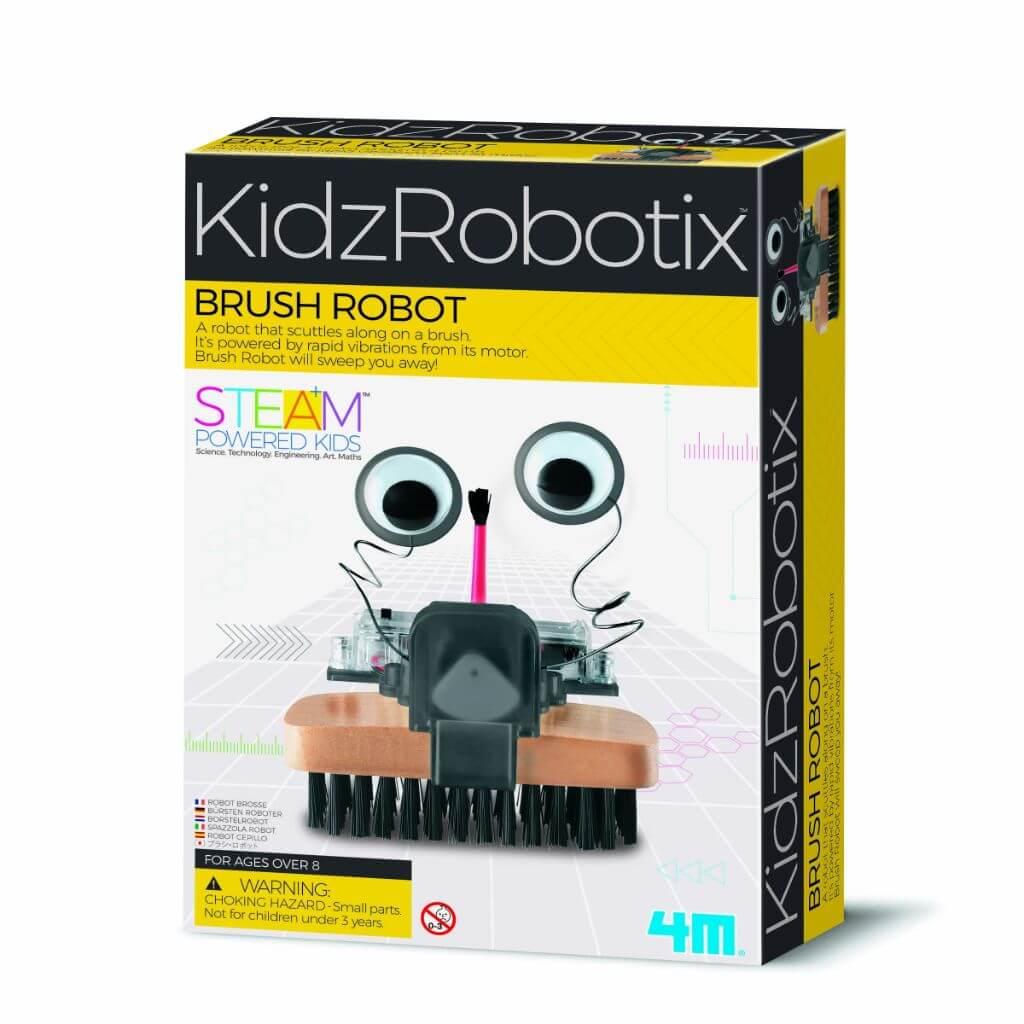 Robô Escova Kidz Robotix