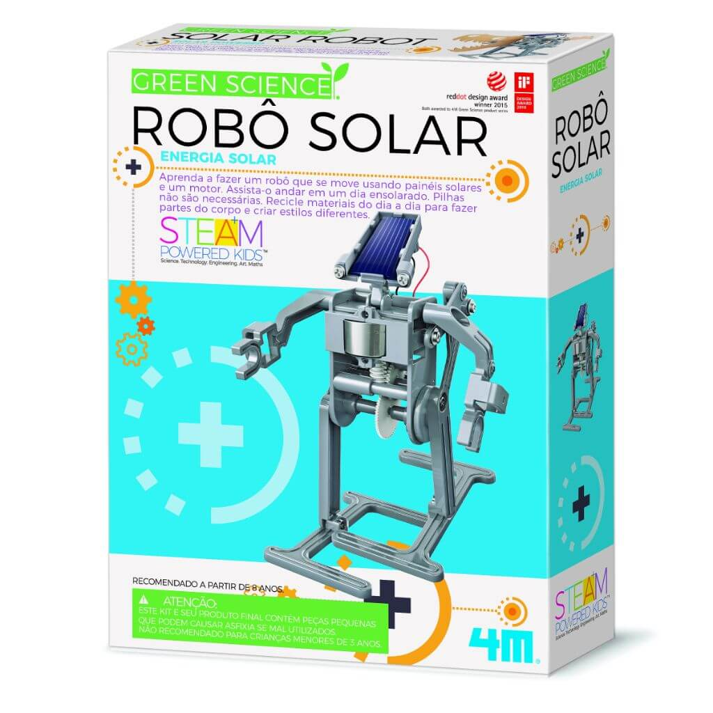 Robô Solar Ciência Verde