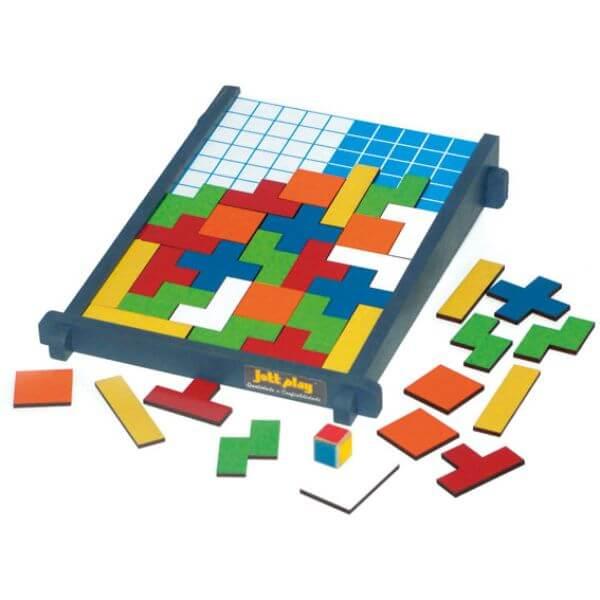 Tabuleiro de Poliminós, Tetris de Encaixar
