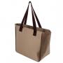 Bolsa Com Bolso Frontal Essencial Marrom Jacki Design