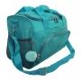 Bolsa Em Amassadinho Crinkle Com Pompom Verde e Squeeze Fitness