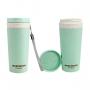 Bolsa Térmica Azul Alça de Mão Concept Com Marmita e Copo Ecológico