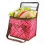 Bolsa Térmica de Mão Bolso Lateral Fresh Salmão com Copo e Marmita Ecológica