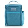 Bolsa Térmica de Mão Concept com Marmita Dupla E Porta Talher Azul