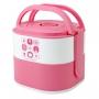 Bolsa Térmica de Mão Concept com Marmita Dupla Rosa Lanch Box