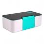 Bolsa Térmica Em Crinkle Com Marmita Porta Celular Azul