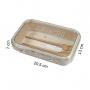 Bolsa Térmica Em Crinkle Preto Com Marmita 800ml e Copo Ecológico