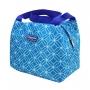 Bolsa Térmica Lancheira de Mão Fresh Azul com Marmita e Copo Ecológico