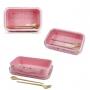 Bolsa Térmica Rosa Alça de Mão Concept Com Marmita 800ml e Copo