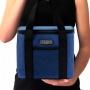 Bolsa Térmica Urbano Azul E Marmita 950ml Rosa Concept