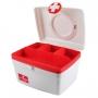 Caixa Organizadora Vermelha De Remédios Pequena Jacki Design
