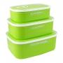 Conjunto com 3 Potes Para Alimentos Jacki Design