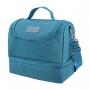 Conjunto Fitness Concept Azul Com Marmita Ecológica 750 ml e Copo Verde