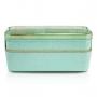 Marmita Ecológica Verde Com 2 Andares 750 ml Jacki Design