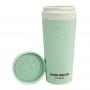 Copo Ecológico Verde Com Tampa 300 ml Lifestyle Jacki Design