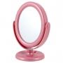 Espelho de Mesa Dupla Face Rosa Jaki Design