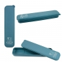 Kit Bolsa Térmica Azul Dots Com Marmita 950ml, Porta Talheres e Kit Higiene