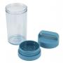 Kit Bolsa Térmica Dupla Azul Com Marmita e Copo E Porta Escova Dental Concept