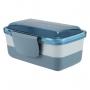 Kit de Bolsa Térmica Impermeável Azul Com Marmita Dupla 950ml