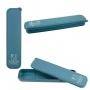 Kit Fitness Concept Azul Com Marmita 750 ml, Copo e Porta Talheres