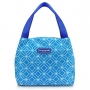 Lancheira Térmica Fresh Azul Com Marmita Concept e Garrafa Fitness