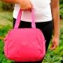 Lancheira Térmica Rosa Com Alça Transversal Ajustável Yepp