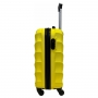 Mala de Viagem Para Bordo Lamego Amarelo com Kit Organizadores