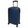 Mala Pequena De Viagem Para Bordo Com Rodas 360° Milão ABS Azul