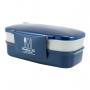 Marmita Azul Fitness Com 2 Andares Livre De Bpa 1200ml Concept Jacki Design