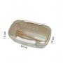 Marmita Ecológica Bege Com 650 ml Com Talheres Jacki Design