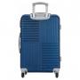 Mini Mala de Viagem Turim ABS Azul Com Porta Lingerie
