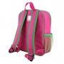 Mochila Escolar Infantil Menina Flor Pink Sapeka Jacki Design