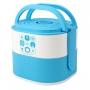 Pote Marmita de 2 Andares com Alça de 1690ml Lunch Box Azul