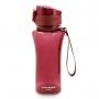 Squeeze Fitness Com Alça Com 450 ml Lifestyle Vermelho Escuro