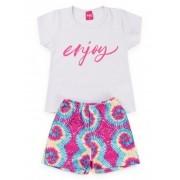 Conjunto Infantil Tie Dye Enjoy