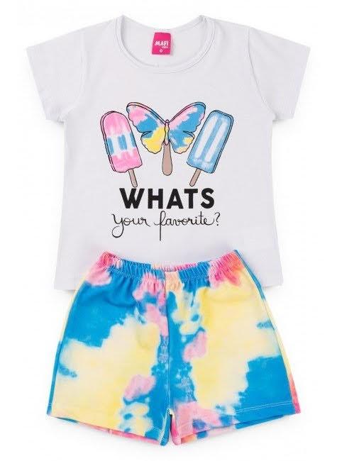 Conjunto Infantil Tie Dye - Whats