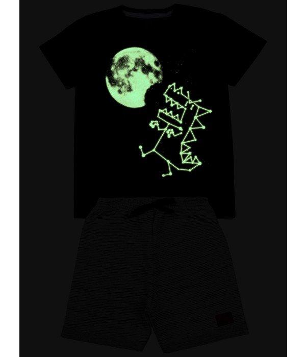 Conjunto Menino - Lua Preto