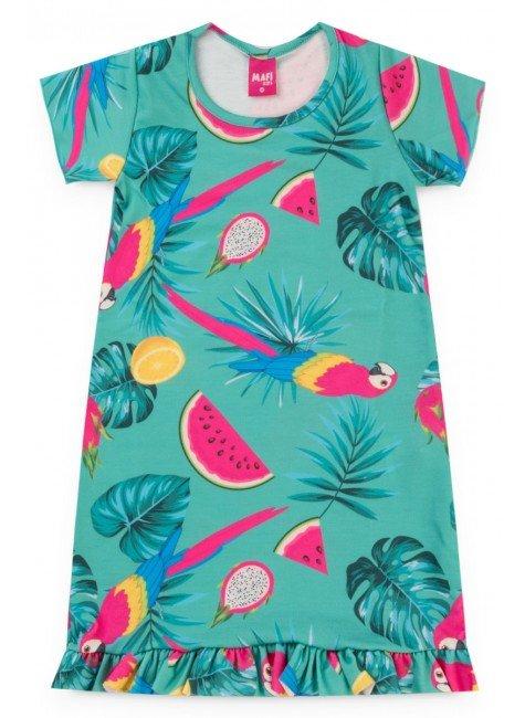 Vestido Tropical - Verde